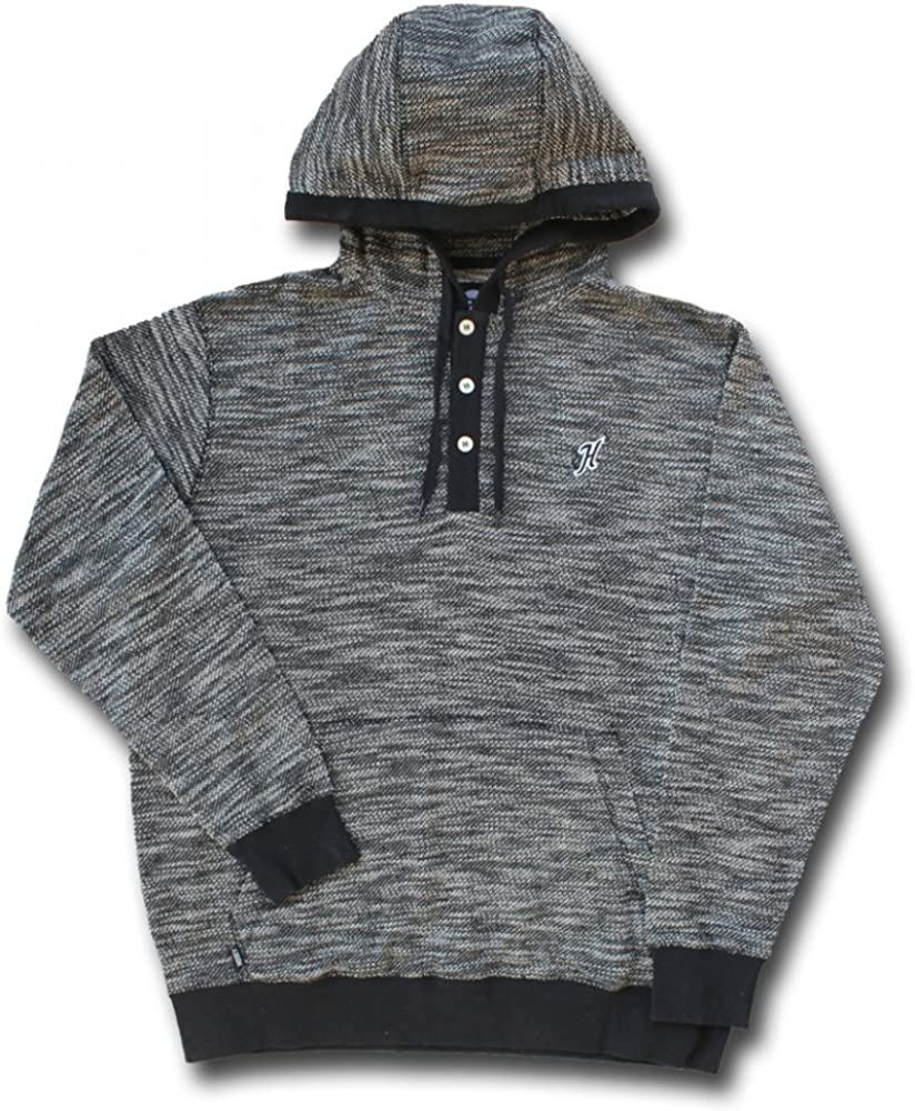 HH1136 HOOey Brand Black Marley Hoodie Jacket
