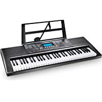 Electric Keyboard Piano 61-Key, Ohuhu Digital Musical Piano Keyboard with Headphone Jack, USB Port & Teaching Modes for…