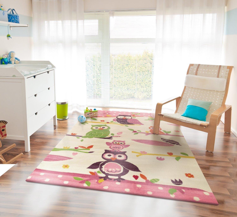 Kinderteppich eule  Kinderteppich Kinder Teppich Wandteppich Spielteppich Läufer ...