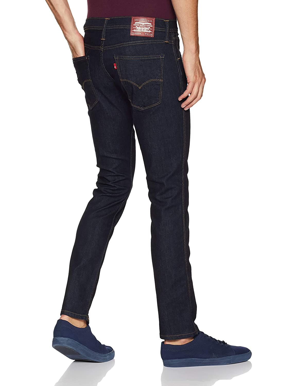 9127a41941c Levi s Men s (65504) Skinny Fit Jeans  Amazon.in  Clothing   Accessories