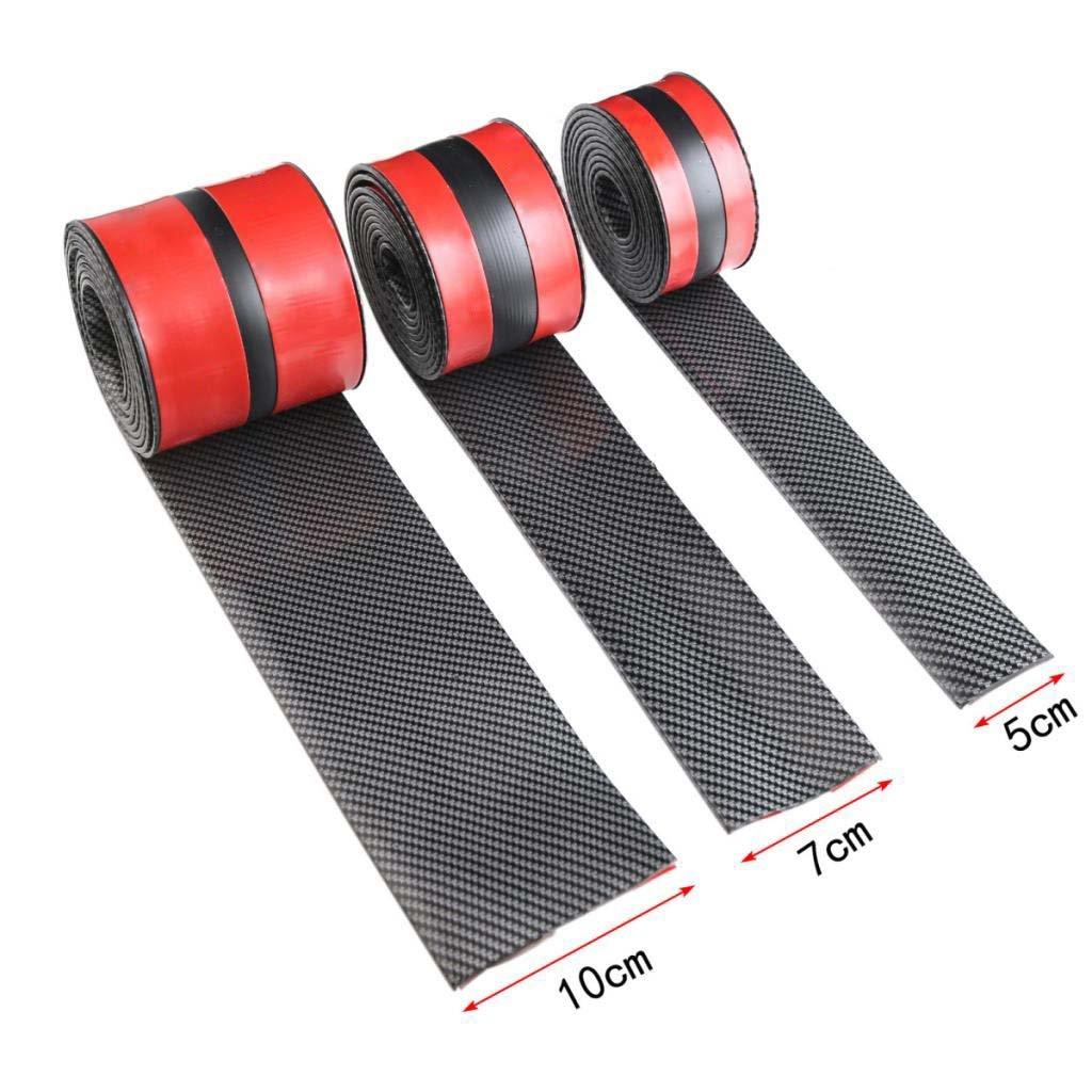Homyl 2.5m Rubber Car Bumper Strip Stickers Lip Guard Door Edge Protector Trim by Homyl (Image #7)