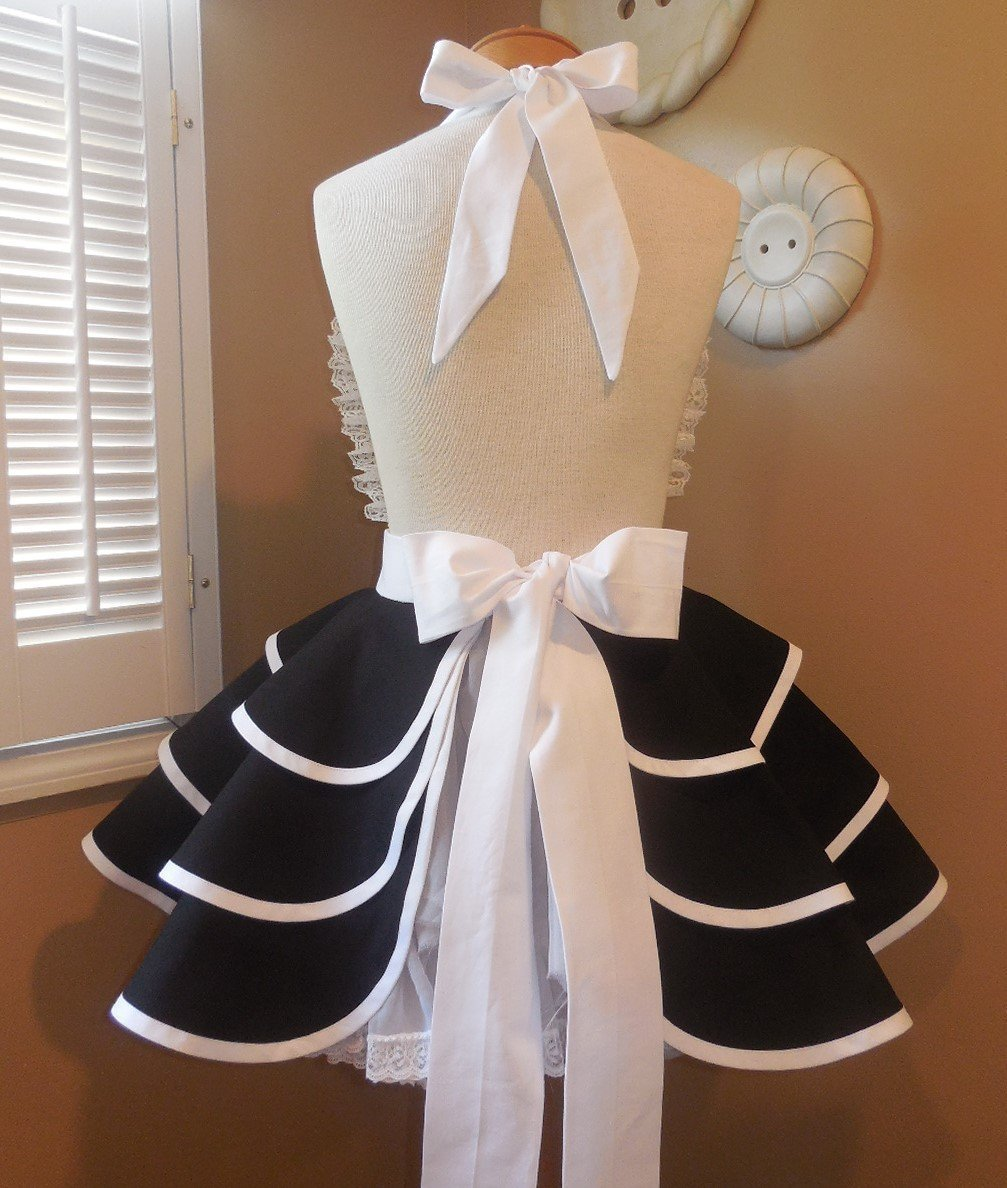 Mr. and Mrs. Bridal Apron Collection by MamaMadison Custom Aprons (Image #1)