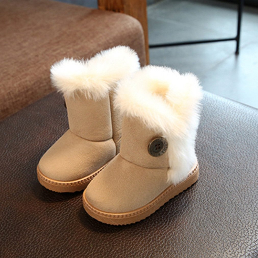 Children Slippers Boots Girls Boys Casual Snow Shoes Trainers, For Little  Baby Infant Toddler Little Kids 1-12 Years Old Sherpa Lined Faux Fur Kids  Winter ...