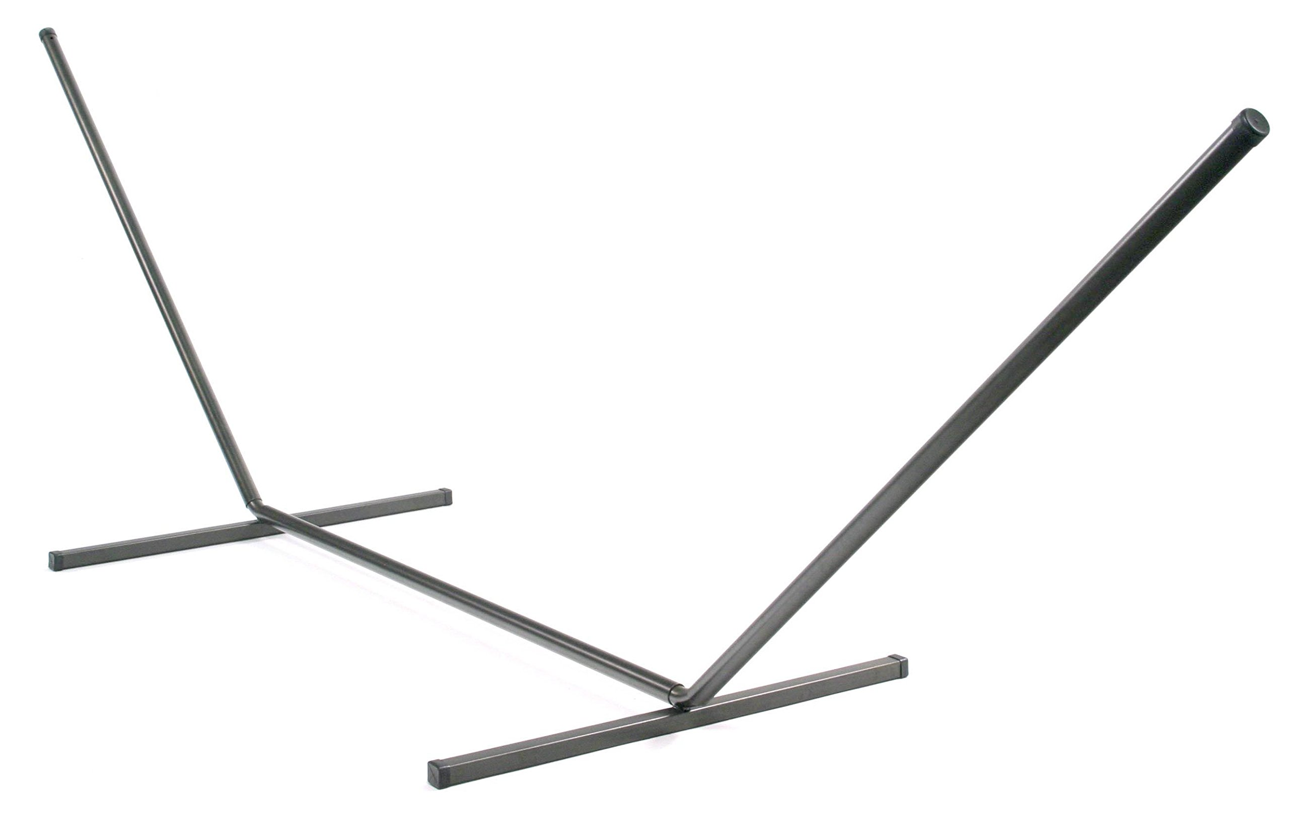 Smart Living 75101-BZ  Bahia Brazilian Hammock Stand, Single, with Powder Coated Bronze Finish and Easy Assembly