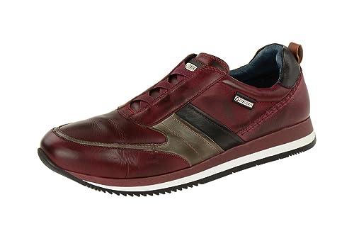 Pikolinos M3h-6138 Garnet-darkgrey-black - Mocasines de Piel Lisa para hombre, color rojo, talla 44: Amazon.es: Zapatos y complementos