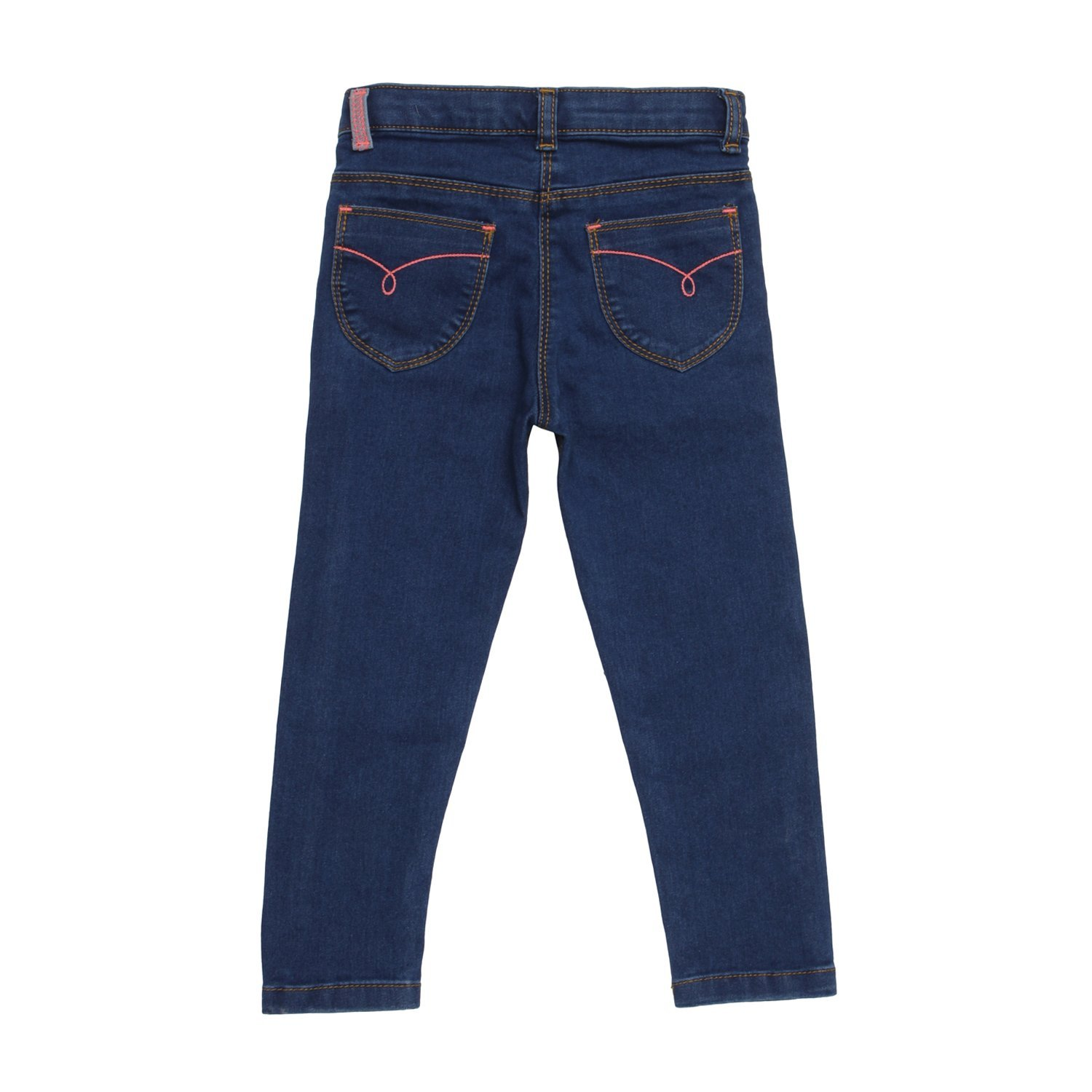 Tales /& Stories Boys Cotton Polyster Elastane Plain Slim Fit Clean Look Jeans