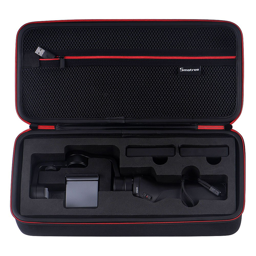 Osmo Mobile Carry Case Smatree Portable Carrying Case for DJI Osmo Mobile Handhold Gimbal Not for OSMO Mobile 2