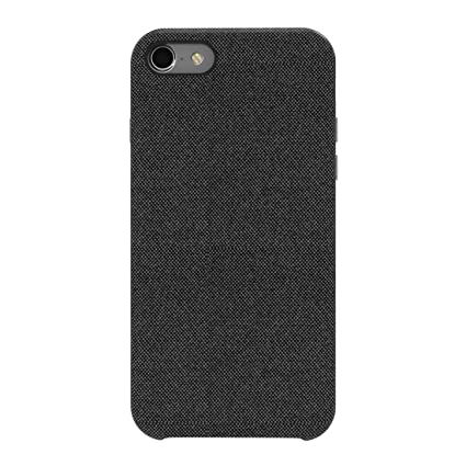 hot sale online b542c e7721 iPhone 8 Case, iPhone 7 Hard Case, Soft Fabric Back Cover Protective Phone  Case Skin Protector Supports Wireless Charging For Apple iPhone 8 / iPhone  ...