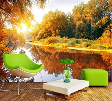 Free Shipping Romantic Warm And Picturesque Tv Background