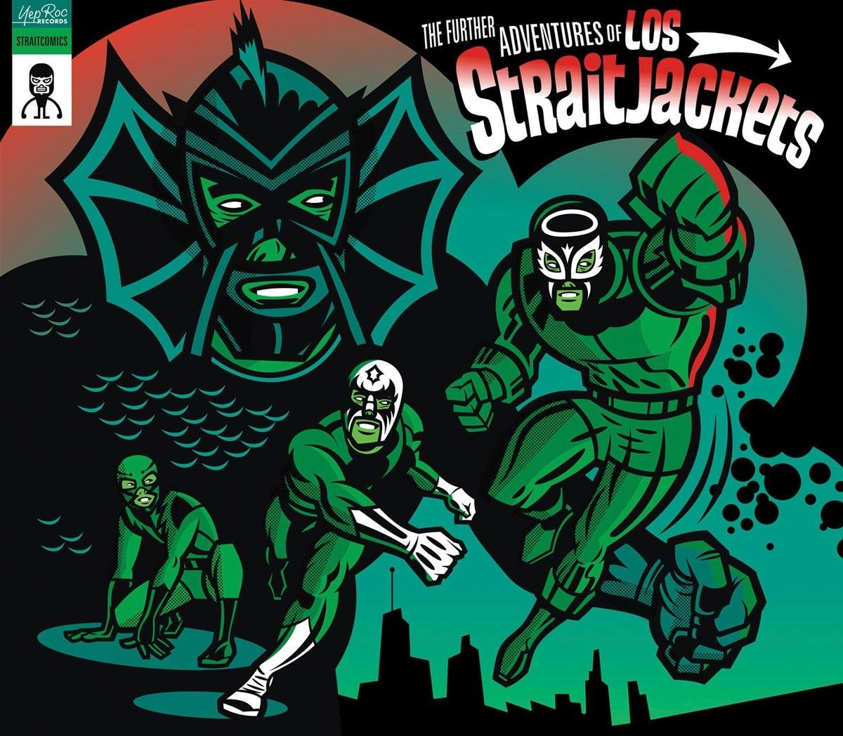 Los Straitjackets - The Further Adventures of Los Straitjackets ...