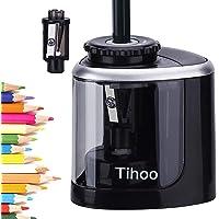 Afilador de lápices, sacapuntas eléctrico de batería, de punta rápida, apto para lápices de color No.2 (6-8mm), de clase…