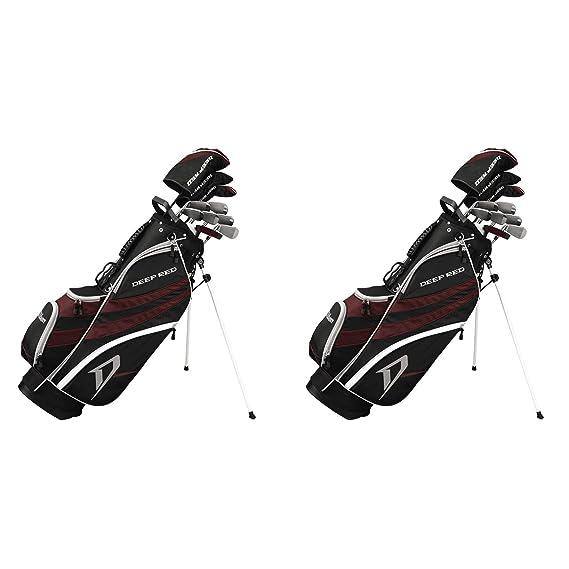 Amazon.com: Wilson Juego completo de palos de golf y bolsa ...