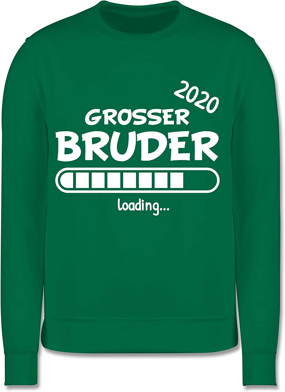 Gro/ßer Bruder 2020 Loading Shirtracer Geschwisterliebe Kind Kinder Pullover