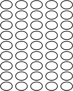 uxcell® 45pcs 25mm x 1.5mm Size Mechanical Rubber O Ring Oil Seal Gaskets Black