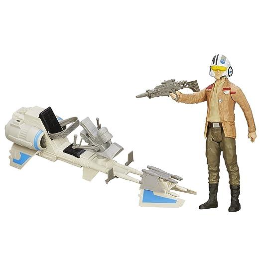 7 opinioni per Star Wars- Il risveglio della Forza, Personaggio Motospeeder con Figurina