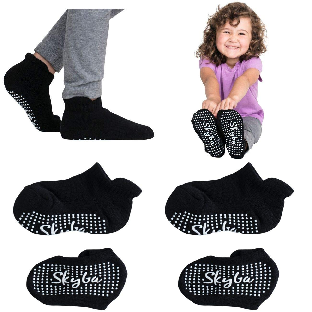 Toddlers Skyba Non Slip Socks Anti Skid Grip for Boys Children Girls Kids