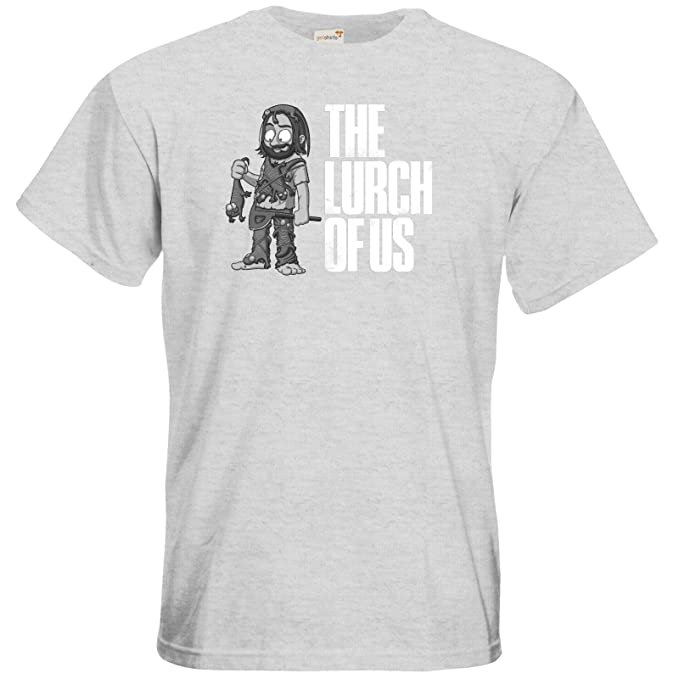 getshirts - Gronkh Official Merchandising - T-Shirt - The Lurch of us s/w:  Amazon.de: Bekleidung