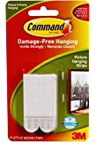 Command Picture Hanging Strips, Medium, White, 4-Pairs (17201-4PK-ES)