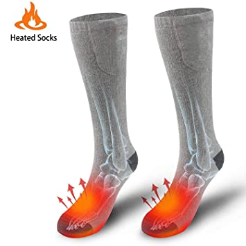Calcetines De Hombre Para Sking Algodón Caliente Calcetines Para Pies Fríos Crónicos Camping Calentadores Senderismo Caza
