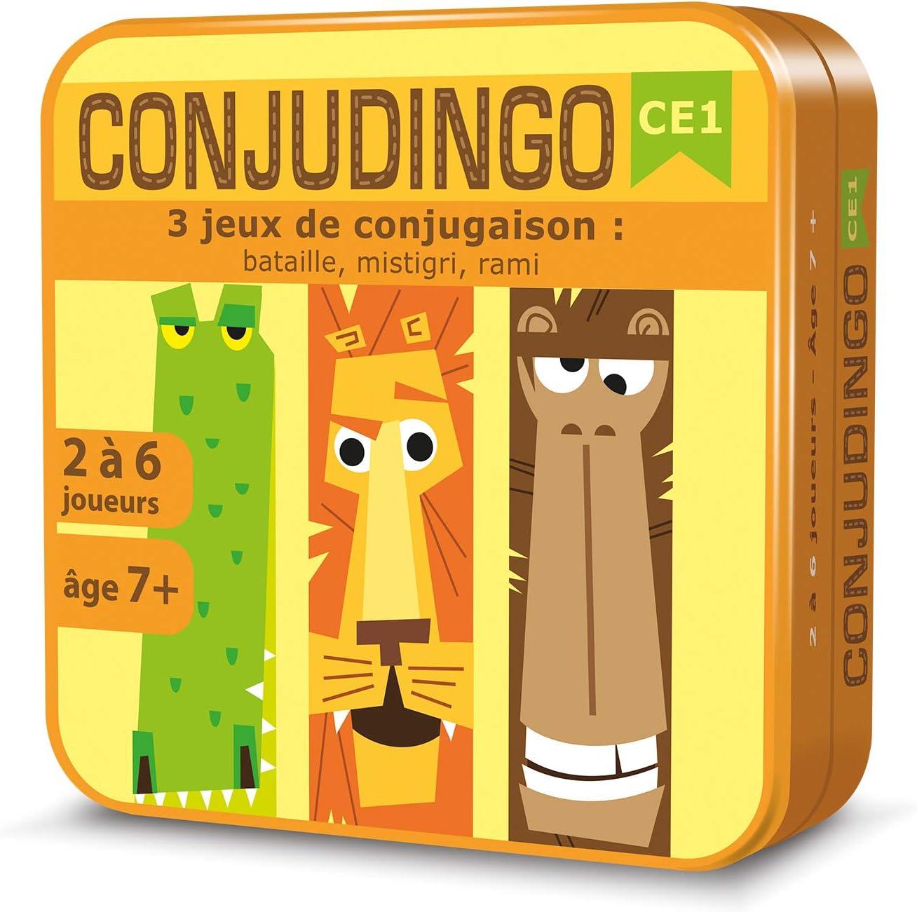 Conjudingo : 3 jeux de conjugaison pour le CE1