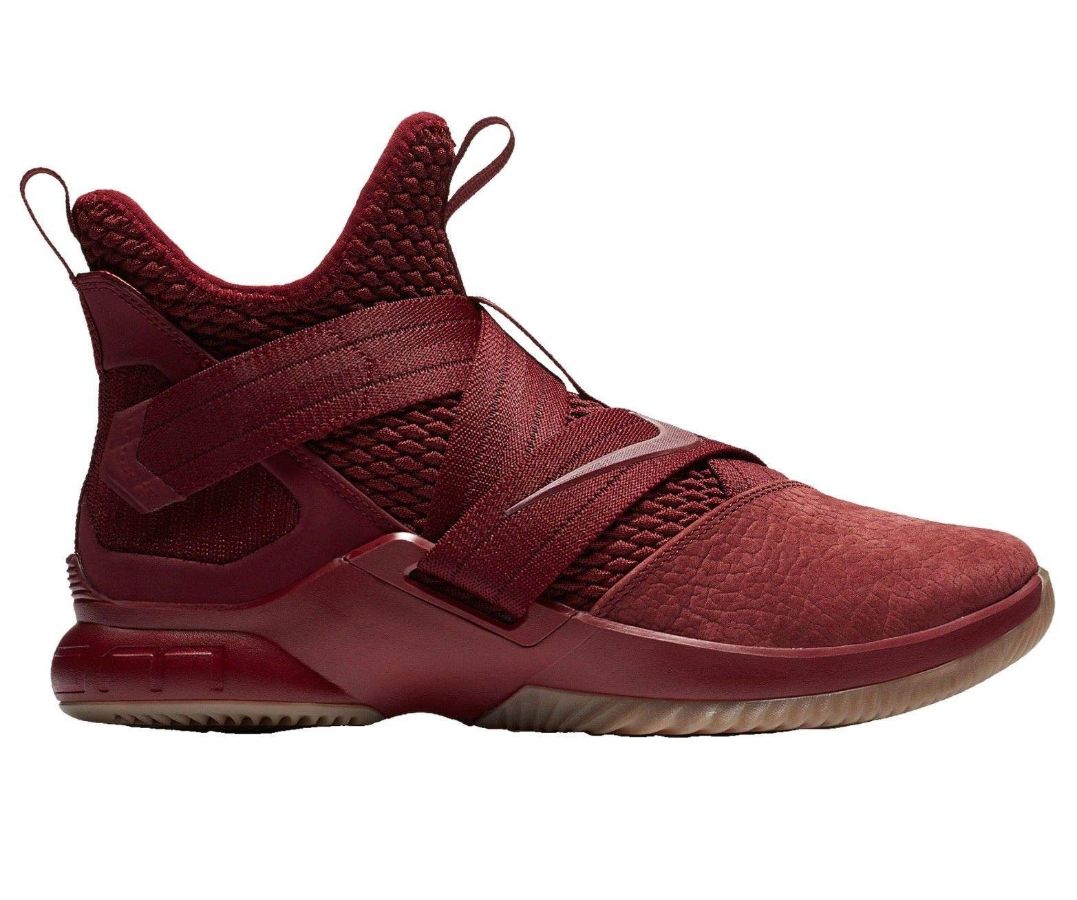 Galleon - NIKE Lebron Soldier 12 SFG Mens Basketball-Shoes AO4054-600 8.5 -  Team RED Team RED-Gum Light Brown f3f5e94ca