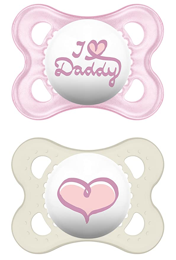 Mam Artículos para bebés, silicona original I love Daddy ...