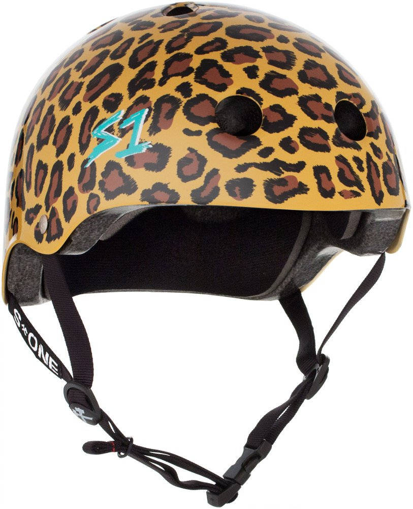 S-ONE Lifer CPSC – Multi-Impact Helmet -Moxi Leopard Print