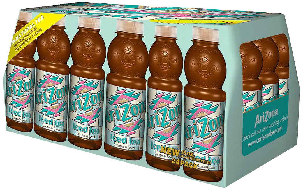 Arizona Arizona Lemon Tea 24 Pack NET WT 16 FL Oz, 384 fl. oz.