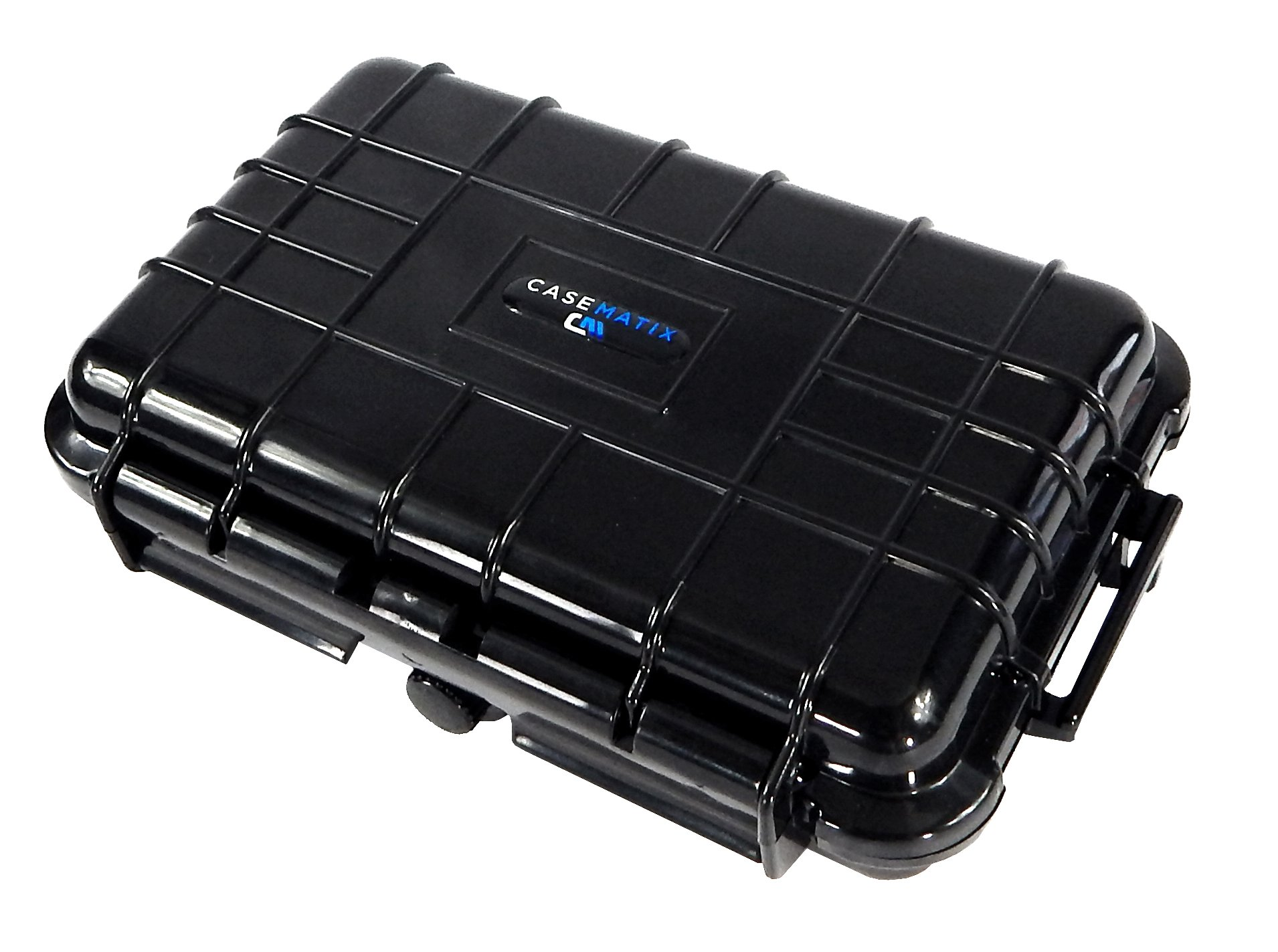 CASEMATIX Waterproof Portable Photo Printer Case Fits Lifeprint Photo AND Video Printer and Charge Cable
