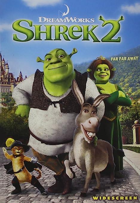 Amazon Com Shrek 2 Widescreen Edition Mike Myers Eddie Murphy Cameron Diaz Antonio Banderas Julie Andrews John Cleese Rupert Everett Jennifer Saunders Andrew Adamson Movies Tv