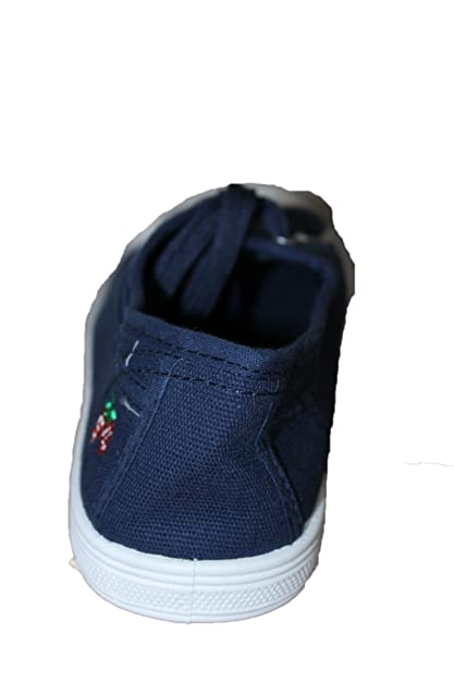 redjin Tennis Basket en Toile-Bleue-Femme ou Ados  Amazon.fr  Chaussures et  Sacs eda388dd657a