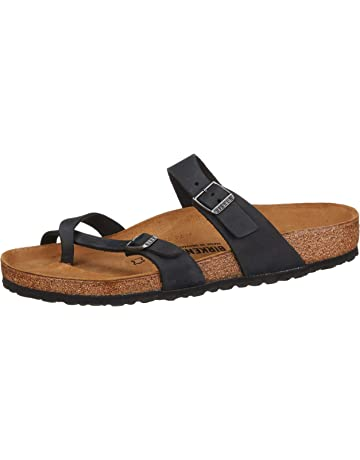 50359b3546e Birkenstock Women s Mayari Oiled Leather Sandal