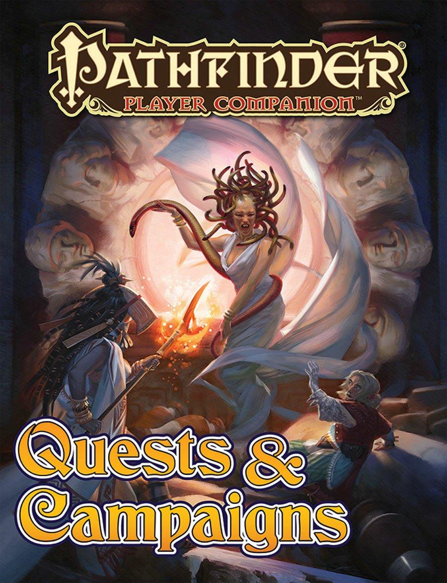 Pathfinder Player Companion: Quests & Campaigns: Paizo Staff