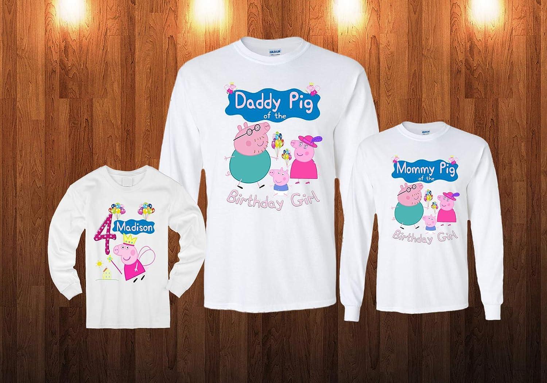 Personalized Peppa Pig Shirt Larger Image