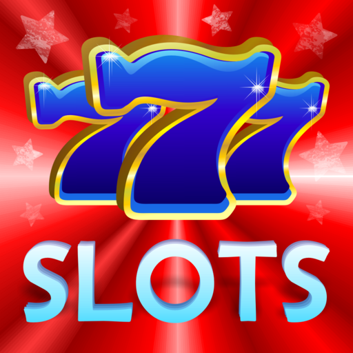 Red White and Blue Fortune Jackpot Galaxy Doubledown Slots - Multi Reel and Wheel Real Classic of Vegas Casino Slot Machine (White Slot Machine Gold)