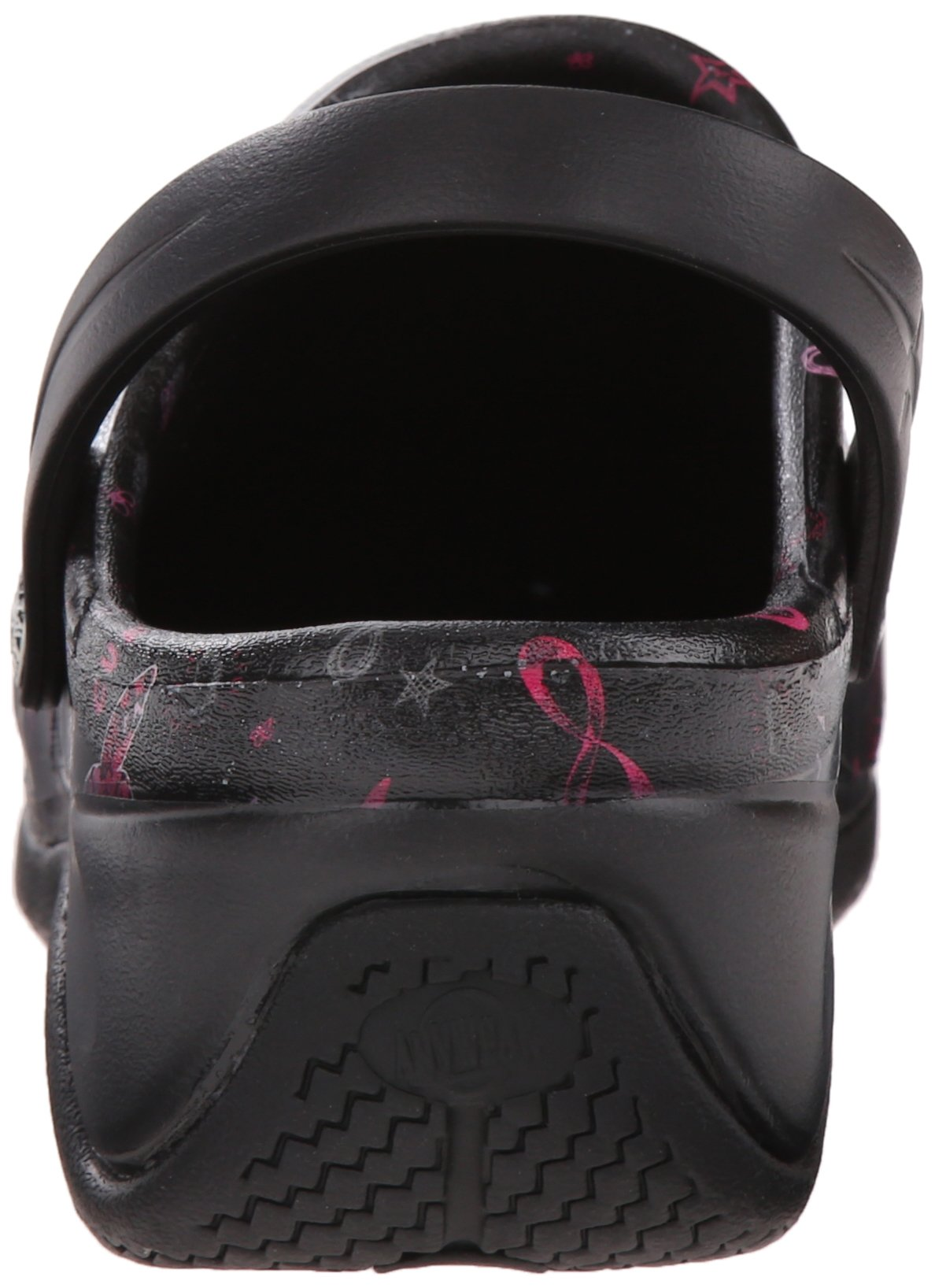 Anywear Women's Zone Work Shoe, Love Hope Cure/Pink Ribbon Print, 8 M US by Anywear (Image #2)