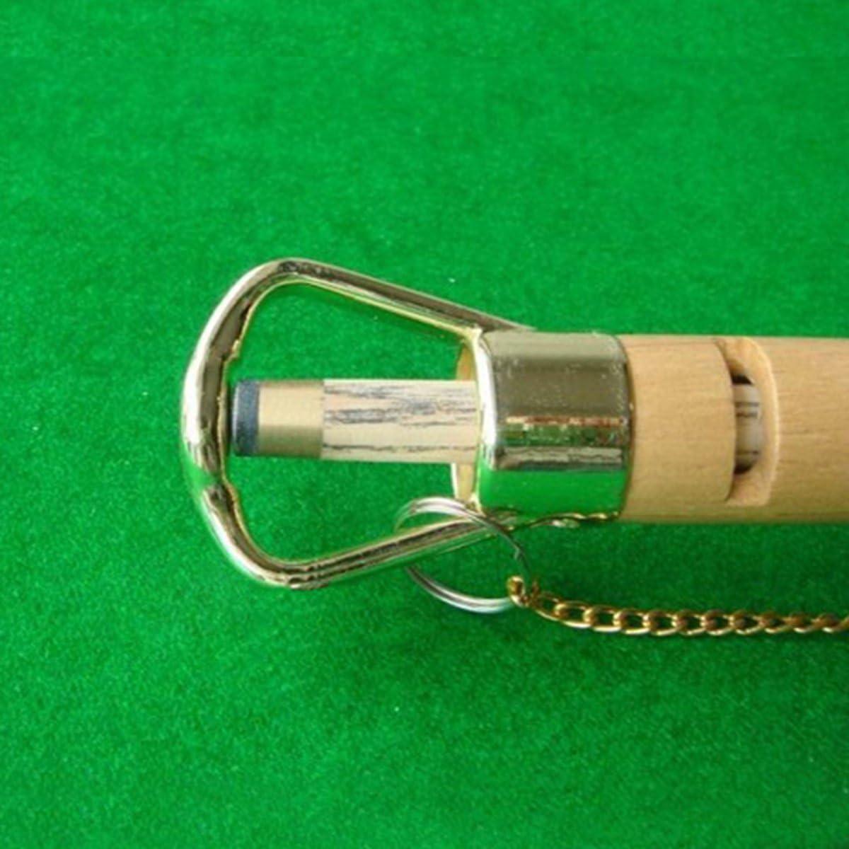JVSISM Holz Tip Clamp Billard Pool Snooker Queue Reparatur Rod Helfer Holz Queue Spitze Clamp Repair Tool