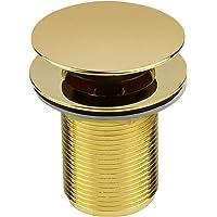 Válvula 1605 para Tanque c/Tampa Click Up em Zamac GO5241 Linha Gold - Ducon Metais