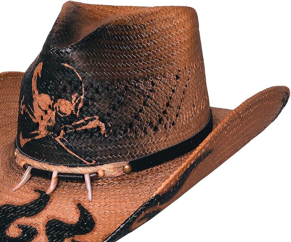 NEW Bullhide Hats 2533 Run A Muck Collection Dangerous Pecan Cowboy Hat