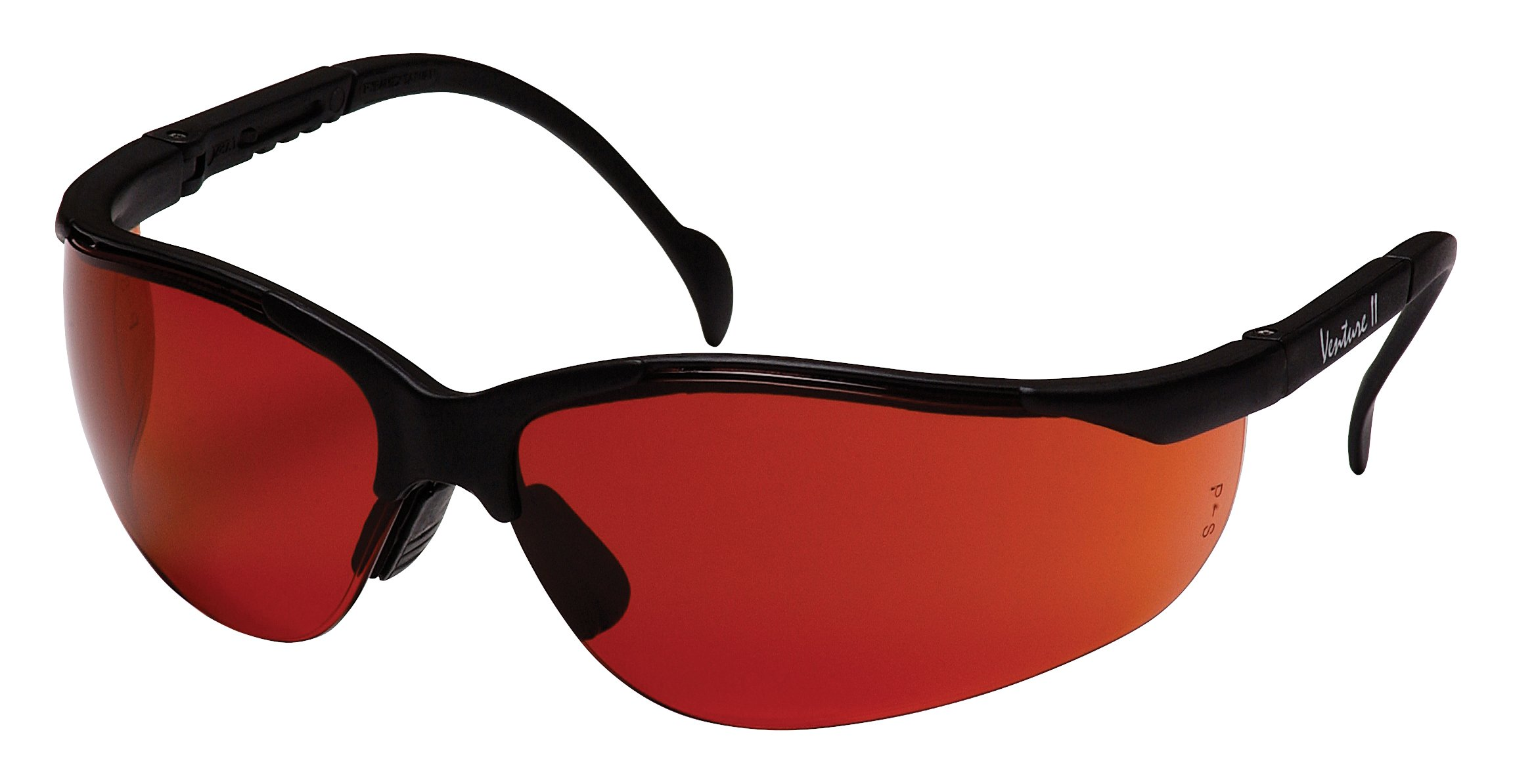 Pyramex Venture Ii Safety Eyewear, Sun Block Bronze Lens With Black Frame by Pyramex Safety