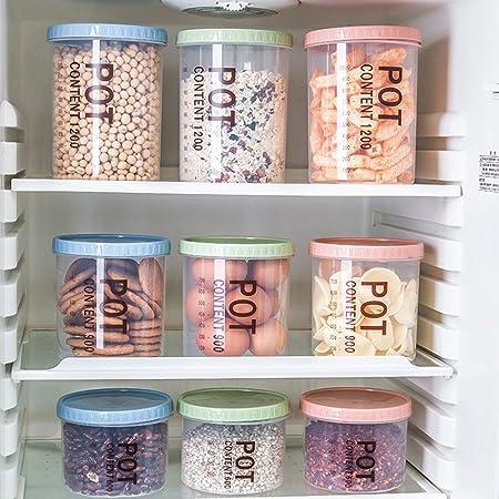 Bqlove 1 Stucke Kunststoff Frischhaltedose Korn Container Kuche