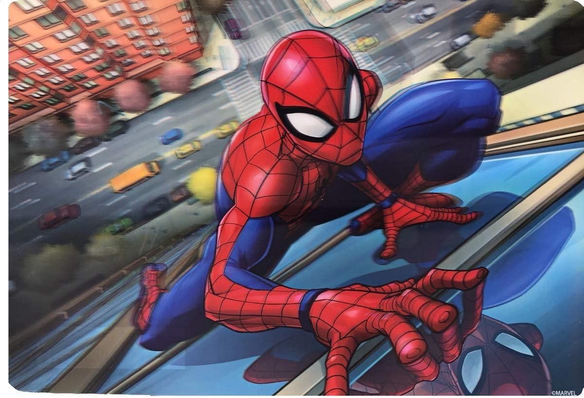 16.5  X 11.5 Spiderman Repas Temps 3d Set de Table 42cm X 28.5cm