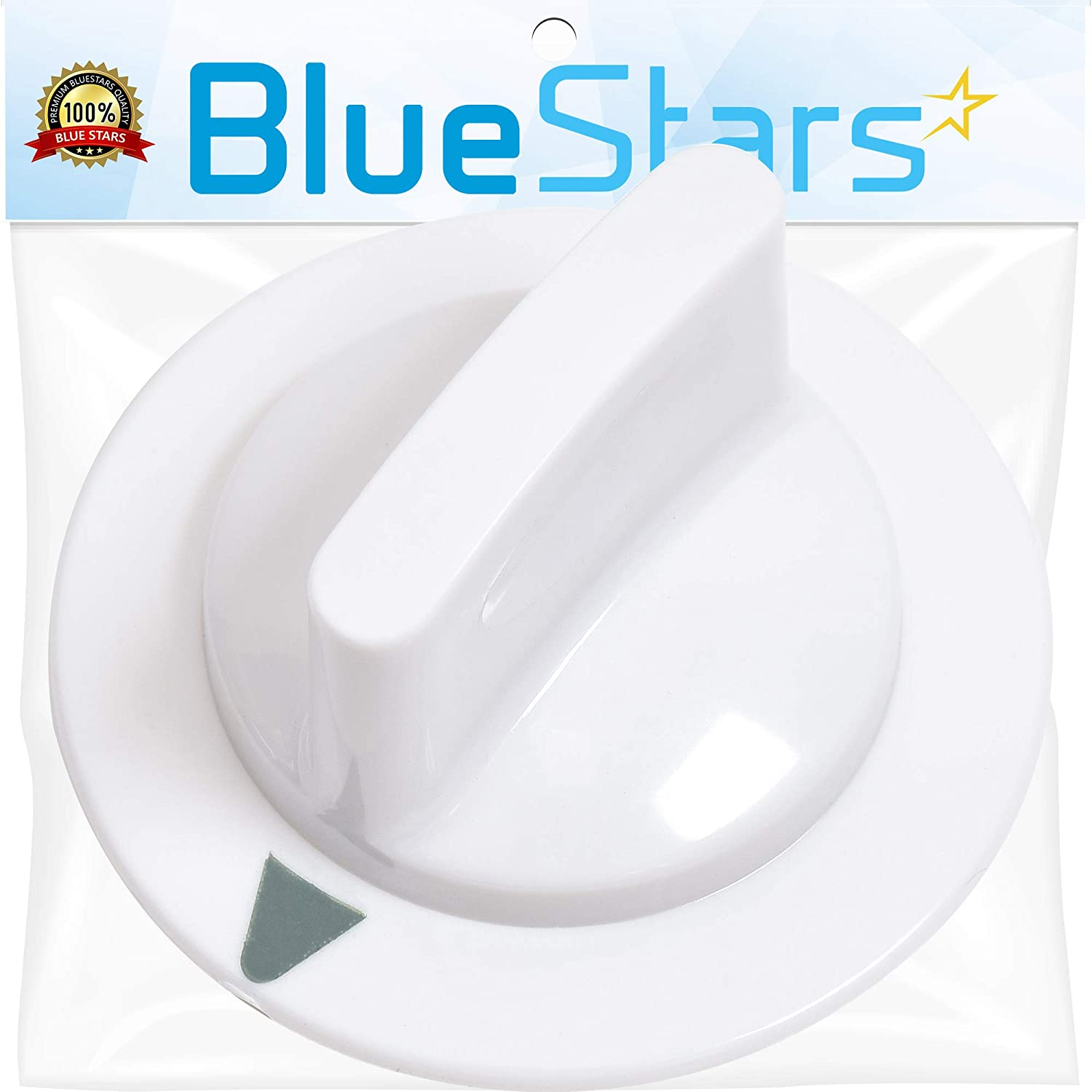 Ultra Durable WE1M652 Timer Knob Replacement Part by Blue Stars - Exact Fit for Hotpoint General Electric Dryer - Replaces 1264289 AP3995164 PS1482196