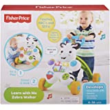 Fisher Price Learn with Me Zebra Walker (Multicolor)