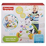 Fisher-Price Learn with Me Zebra Walker Toy