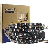 ALITOVE 16.4ft 150 Pixels WS2813 Upgraded WS2812B Individually Addressable Programmable RGB LED Strip Light Signal Break…