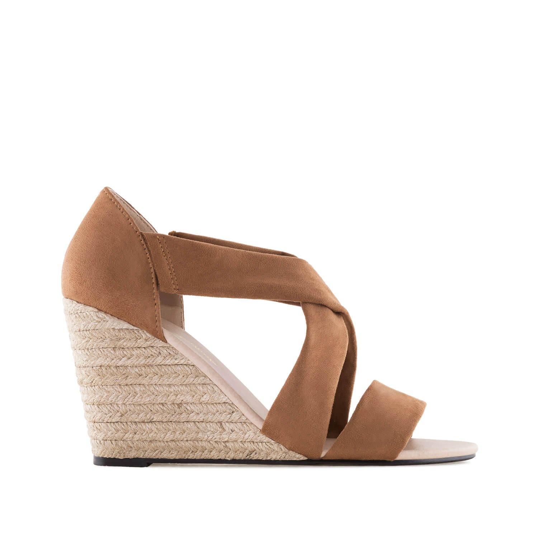 d872a63b57c9ec Chaussures compensées en suèdine.pour Femmes.Petites et Grandes Pointures 32/35  et ...