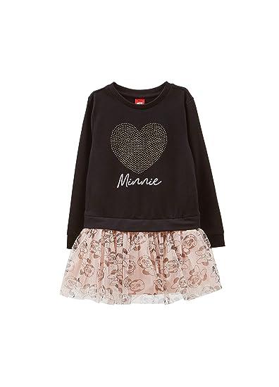OVS - Vestido con Strass y Falda con Estampado de Minnie: Amazon ...