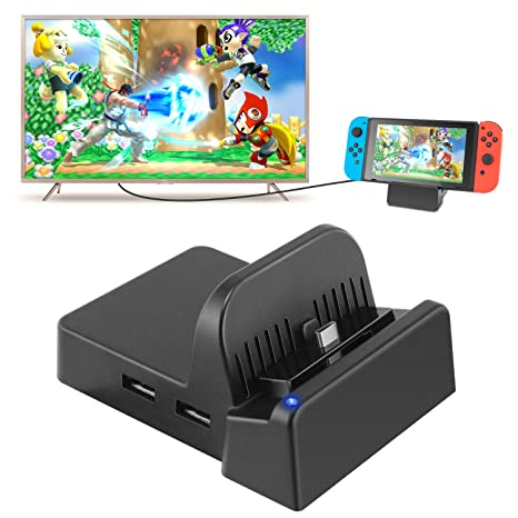 Amazon.com: Switch TV Dock, Portable Mini Switch Docking ...