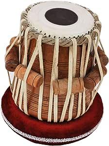 Queen Brass Tabla Dayan Drums-Shesham Wood-Hand Made Skin-Great Sound